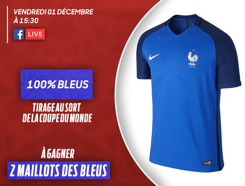 100 bleus suivez le tirage au sort de la coupe du monde - Tirage au sort coupe de france en direct ...