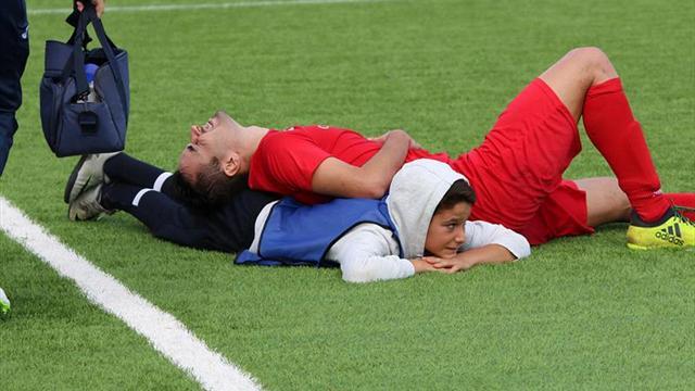 Niño salvó la vida de un jugador en pleno partido