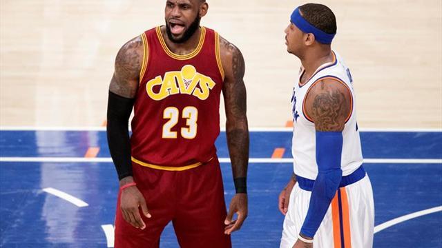 NBA: LeBron James fue expulsado por primera vez en su carrera