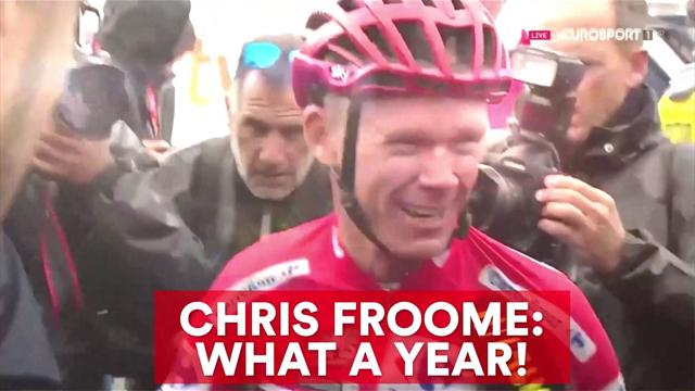 Chris Froome: What a year!