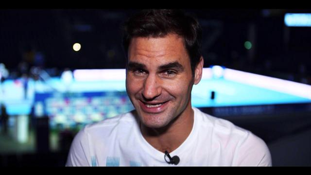 Federer interview at Andy Murray Live