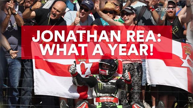 Jonathan Rea: What a year!