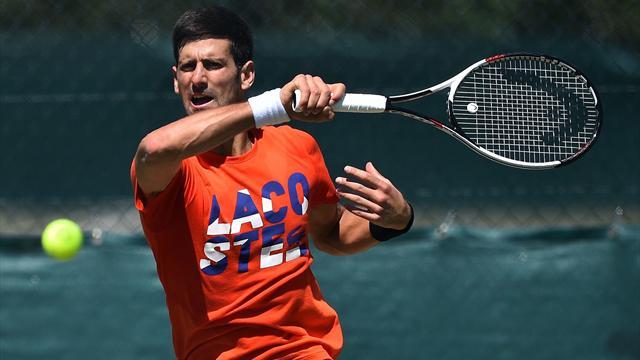 Djokovic affrontera Bautista Agut pour son grand retour