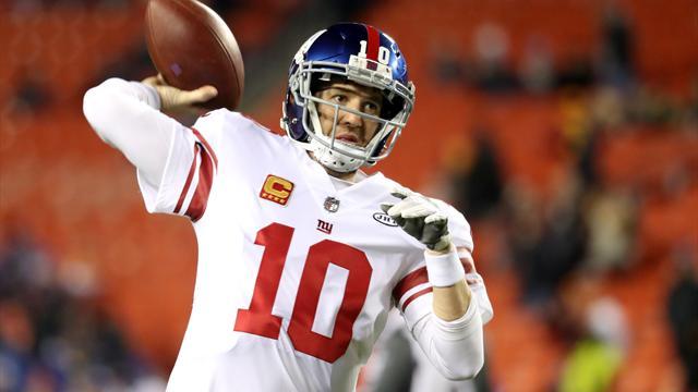 Nach 210 NFL-Spielen: Eli Manning muss auf die Bank