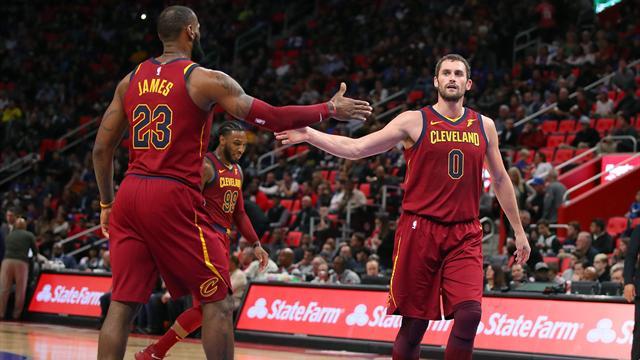 Cavaliers galibiyet serisini 13 maça çıkardı