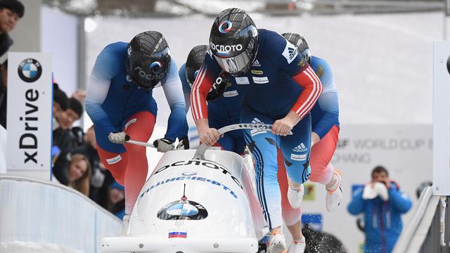 МОК пожизненно отстранил от Олимпийских игр бобслеистов Касьянова, Пушкарева и Хузина