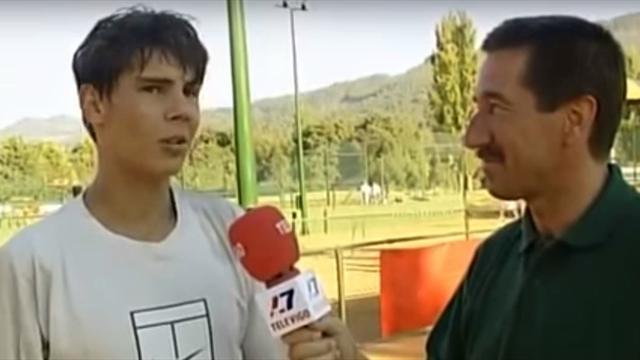 Quand Nadal préférait l'herbe à la terre battue et rêvait de Wimbledon