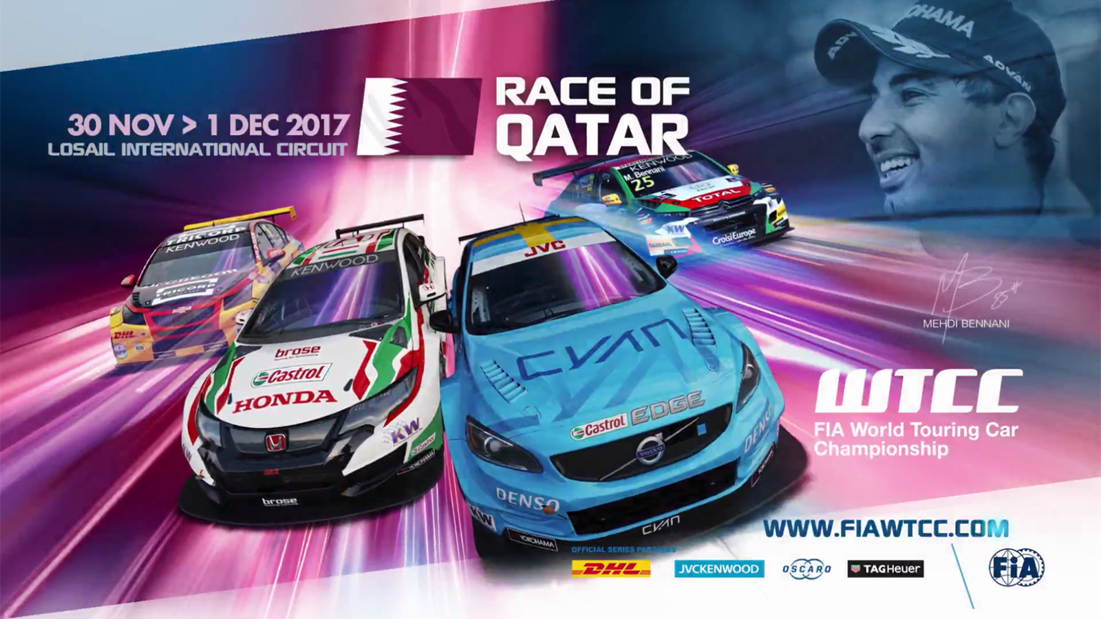 81c67efa719f6 VIDEO - FIA WTCC Qatar - WTCC Qatar - Video Eurosport
