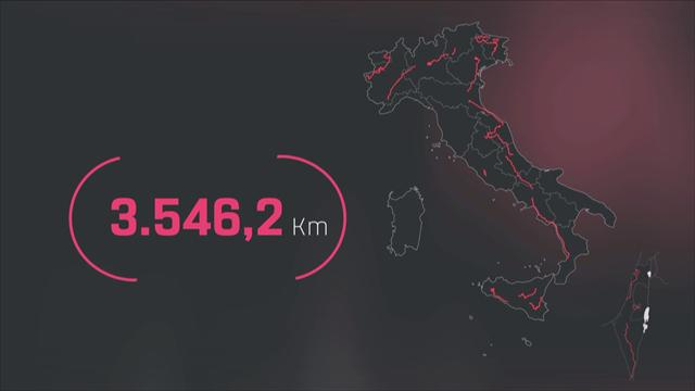 Giro 2018 map: All 21 stages of a spectacular route