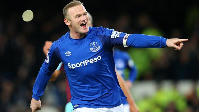 Wayne Rooney Hat Trick Inspires Everton As David Moyes