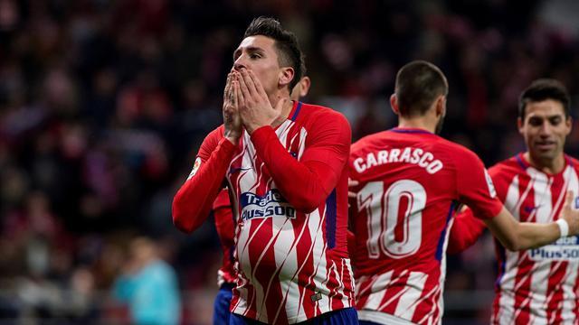 Los elogios de Giménez, mejor jugador de septiembre, a la afición del Atlético