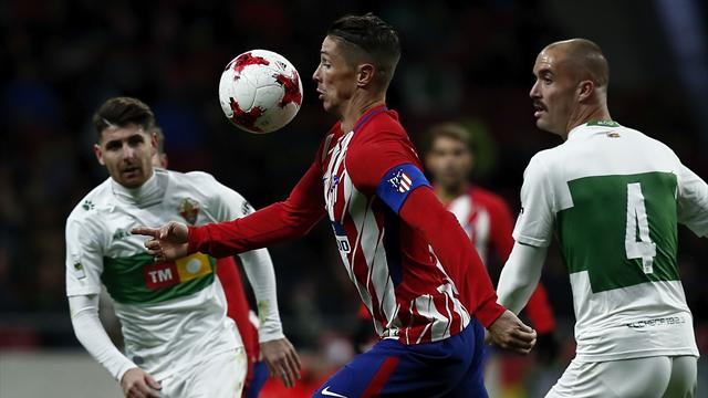 L'Atlético en démonstration, la Real Sociedad et Bilbao éliminés par des clubs de D3