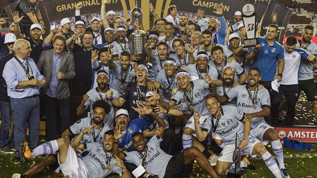 «Гремио» выиграл Кубок Либертадорес, а его фанаты превратили город в адский муравейник