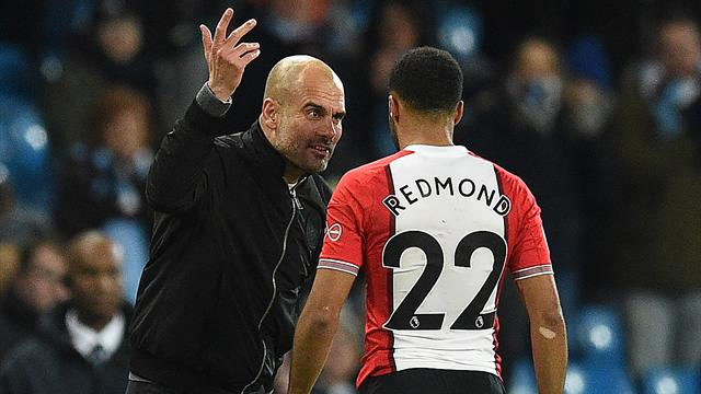 Pep Guardiola's freaky rant at Nathan Redmond concerning