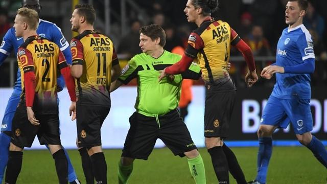 «К счастью, я не был пьян». Рефери-любитель подменил двух травмированных судей в Кубке Бельгии