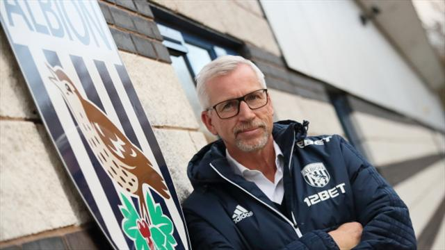 Pardew pledges to make West Brom a strong attacking force