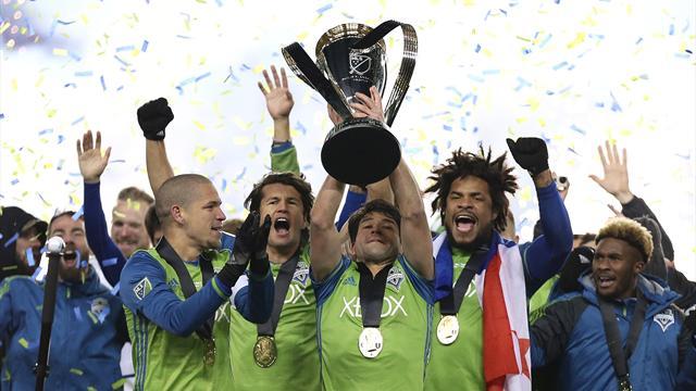 MLS: Seattle gewinnt Western Conference - und lässt's krachen