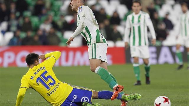 Betis y Guardado dicen adiós a la Copa del Rey
