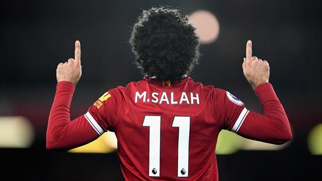 Салах обошел Роналду истал лучшим игроком недели вЛиге чемпионов