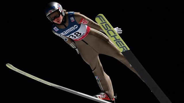 La norvegese Lundby domina i salti di allenamento; bene le sorelle Malsiner