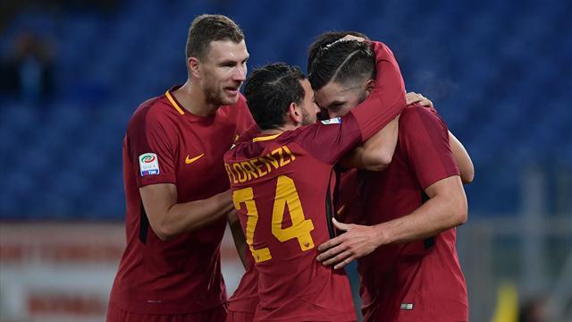 Roma-Spal 3-0, i giallorossi tornano a correre con Dzeko, Strootman e Pellegrini
