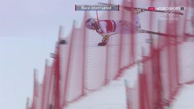 Heftiger Sturz! Ski-Queen Vonn rauscht in die Fangnetze