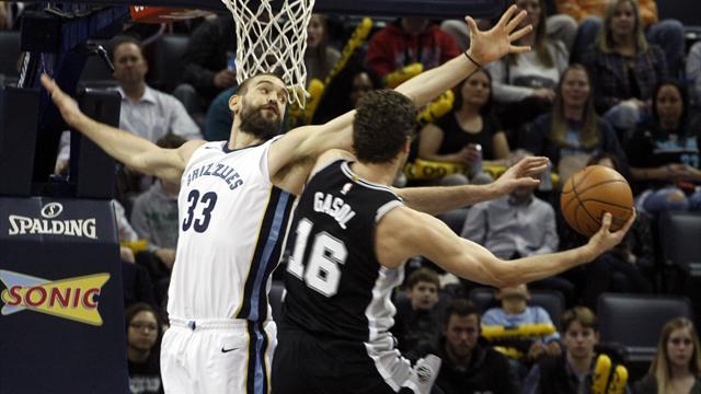 Con una gran actuación de Ginóbili, San Antonio vapuleó a Memphis — NBA