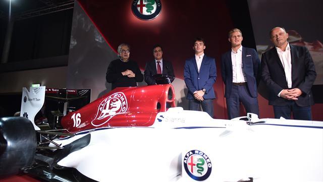 Sauber a dévoilé une livrée 2018 aux couleurs d'Alfa Romeo