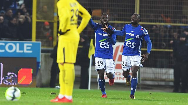PSG lose first match of season in Strasbourg