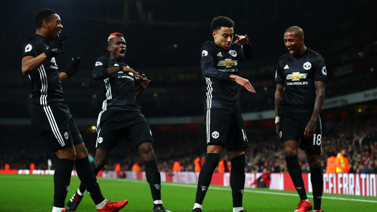 Jesse Lingard Strikes Twice As Manchester United Beat