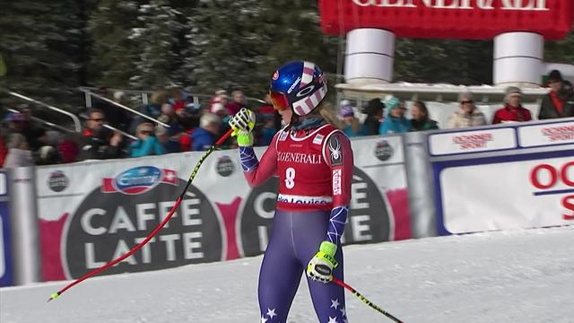 Shiffrin wins first ever Downhill as she takes victory in Lake Louise