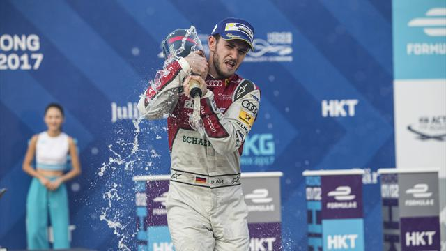 Fórmula E, Hong Kong: Amargo cumpleaños de Abt, descalificado tres horas después de ganar
