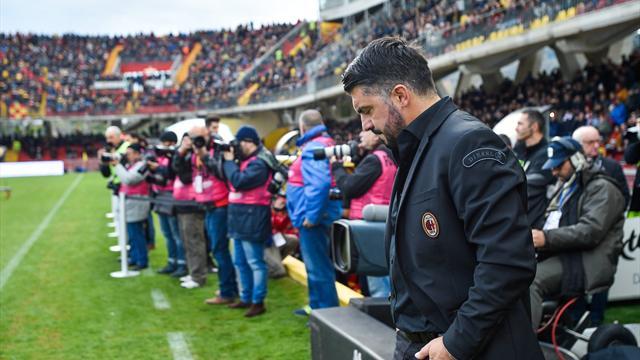 Milan: esonerato Montella, panchina a Gennaro Gattuso
