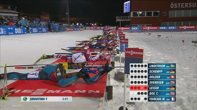 Fourcade supreme in Oestersund pursuit