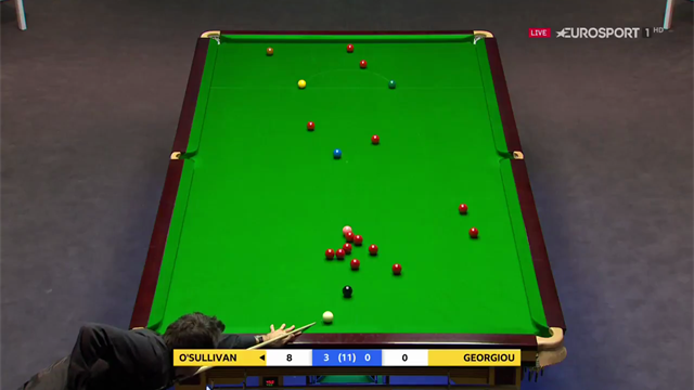 O'Sullivan sinks glorious long red