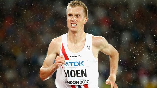 Le Norvégien Moen est le meileur marathonien d'Europe
