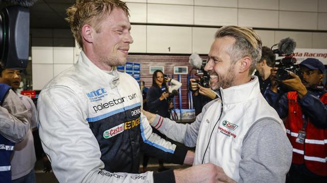 Le nouveau Champion WTCC adresse un message de soutien à Monteiro