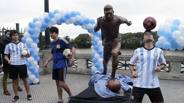 En Argentine, la statue de Messi a (encore) été vandalisée