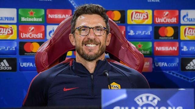 """Di Francesco carica la Roma: """"Contro lo Shakhtar con spensieratezza e determinazione"""""""