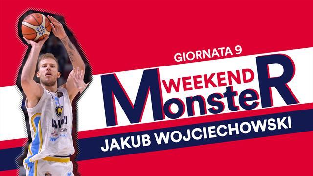 Monster weekend: Jakub Wojciechowski è devastante, con 27 punti in 28 minuti