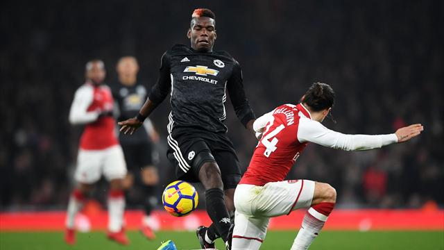 United will not appeal Pogba's three-game ban after red card at Arsenal