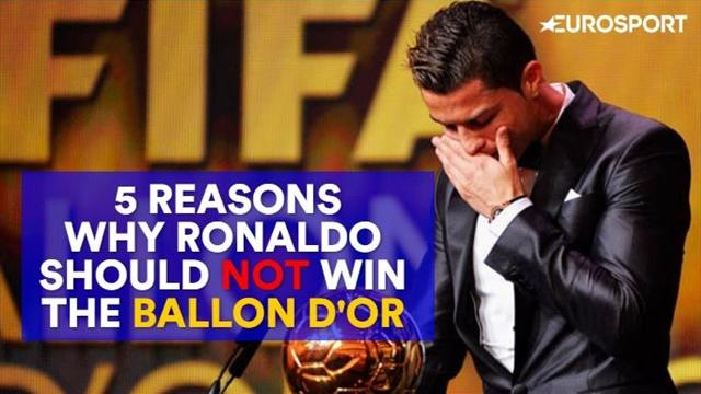 5 reasons why Ronaldo should NOT win the 2017 Ballon d'Or