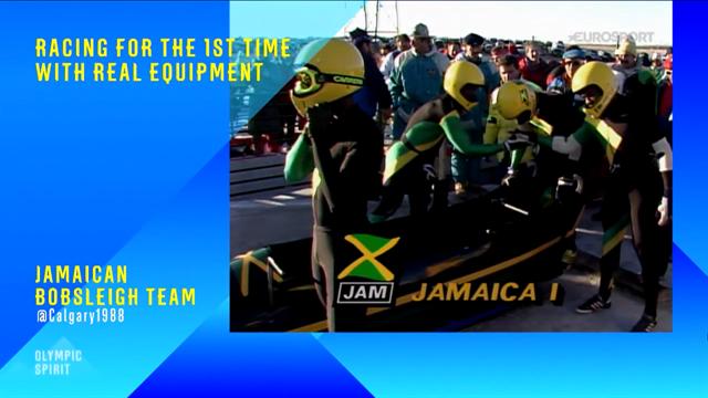 """Momentos olímpicos: La vuelta de honor de los """"Reggae Boys"""" jamaicanos"""