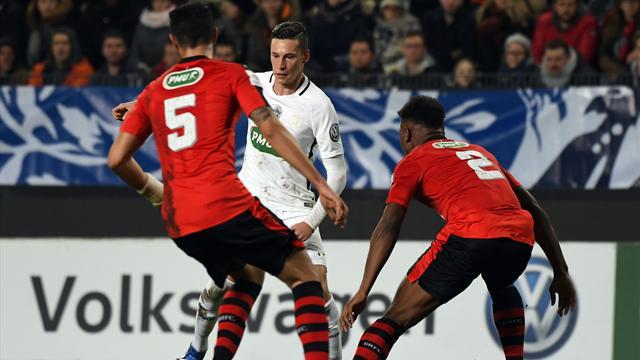 Un choc Rennes-PSG en 32es, le tirage intégral — Coupe de France