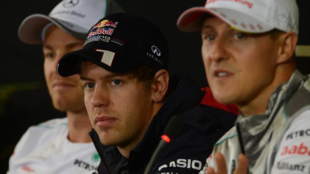 Schumacher, Vettel und Rosberg in der Motorsport-Hall-of-Fame