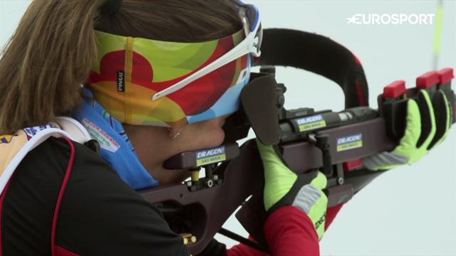 'Rumbo a PyeongChang' nos desvela la historia de Victoria Padial, pionera española del biatlón