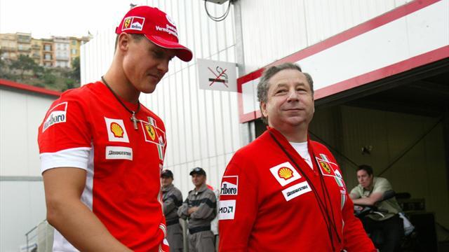 """FIA-Boss Todt berührende Worte an Schumacher: """"Michael kämpft..."""""""
