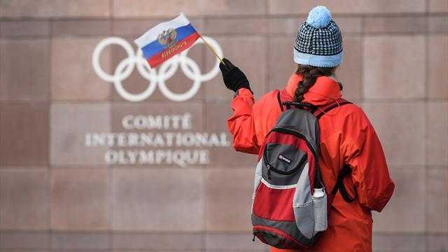 La Russie exclue, pas ses sportifs