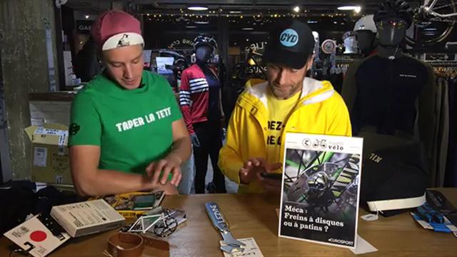 MARDI VELO - Les freins à disques peuvent-ils détrôner les patins ?