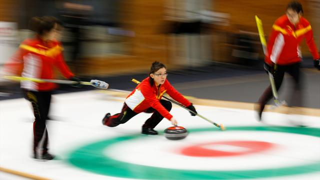 """Lucky"" China begin Olympic curling qualification bid with win in Pilsen"